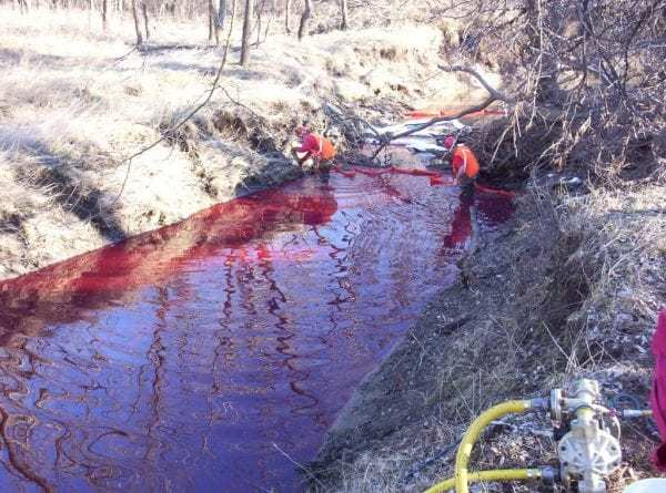 What to Do in the Event of a Petroleum Spill
