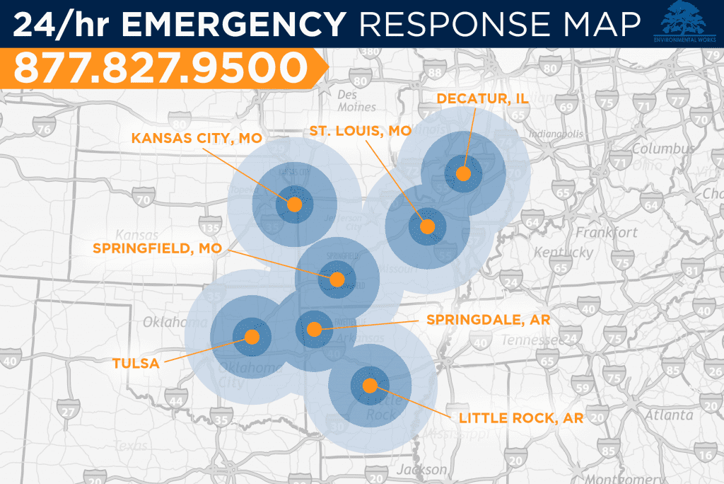 Our Emergency Response Coverage Map