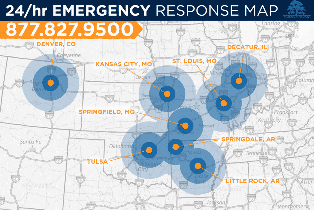 Emergency Response Area Map